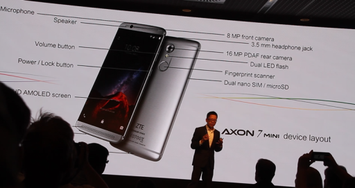 Global Launch Axon 7 mini